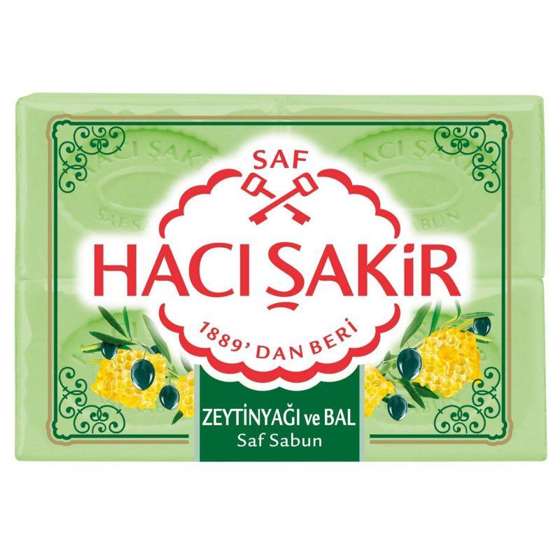HACI SAKIR Olivenseife mit Honig 4x175g Pack.jpg